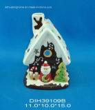 Casa de Natal Ceramic Tealight Candle Holder