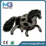 Insigne mol de Pin de cadeau d'émail estampé par laiton promotionnel avec l'impression de garniture