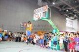 Plancher d'intérieur extérieur matériel modulaire de basket-ball de Nicecourt pp, tuile modulaire de terrain de basket