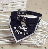 Bandana estampé par modèle fait sur commande promotionnel de crabot d'animal familier de logo avec le collier