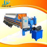 Máquina hidráulica de descarregamento eficiente da imprensa de filtro da argila para a secagem da lama e da pasta