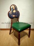 喫茶店の椅子をスタックする普及した鉄