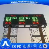 Alta fiabilidad P10 Número SMD3528 LED rojo color de la pantalla