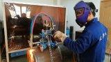 draagbare van de het gasvlam van het oxy-brandstofacetyleen de pijp scherpe machine met handbediening