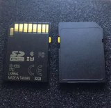 Scheda nera di deviazione standard di Class10 32 GB 64GB con il cursore giallo e Cid variabile per percorso di GPS dell'automobile