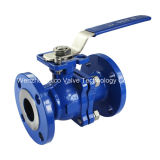 ANSI 150lb Wcb Floating Ball Valve met ISO5211 Mouting PAD