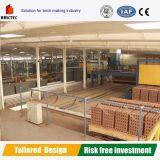 Forno di traforo della fornace per mattoni dell'argilla refrattaria