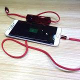 電気めっきUSBの料金のデータケーブル携帯用移動式力バンク