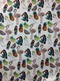 Polyester Krepp gedrucktes Chiffon- Farbic elegantes Kleid-Gewebe 100%