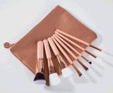 conjunto de cepillo cosmético del maquillaje 8PCS con la nueva bolsa de la manera