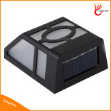 2 impermeable al aire libre de iluminación solar Luz LED de encendido, luz solar del jardín LED