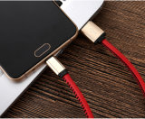 PU 가죽 덮개 5V 2A 마이크로 USB 책임 이동 전화 케이블