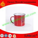 Подгонянная напечатанная логосом кружка эмали/сь кружка/чашка чая