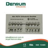 Parentesi ortodontiche del metallo di Denrum