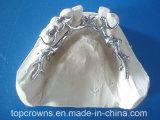 Parcial del cobalto y del cromo hecho en laboratorio de la dentadura de China