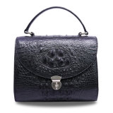 Sac d'emballage de luxe de bonne qualité de Madame Genuine Crocodile Leather Handbag