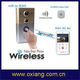 Внутренной связи дверного звонока цифров WiFi телефон двери видео- беспроволочной видео-