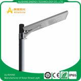 높은 광도 IP67는 15W LED 태양 가로등을 방수 처리한다