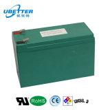 paquete de la batería del Litium-Ion de 12V 18ah con la caja de batería de plomo