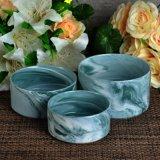 Sostenedor de vela de cerámica de mármol