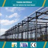 Almacén largo de la construcción de la estructura de acero del palmo, taller