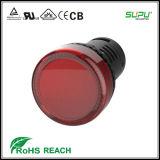 Un pulsante impermeabile di 5 colori LED del IP 65 di Supu