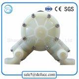 Mini pompe à diaphragme eau-air liquide de pp (plastique)