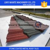 Tuiles de toit enduites en pierre en métal de Nosen de diverses couleurs populaires au Nigéria