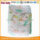 Tecido descartável do bebê com o tecido sonolento respirável do bebê de Backsheet