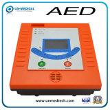 Defibrillator externo automático de primeros auxilios del AED de Una6l con la visualización del LCD
