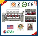 A únicas cabeça e Multi-Cabeças comerciais computarizaram a máquina do bordado para o bordado do tampão & do t-shirt com todos os testes padrões (WY902C---1212C)