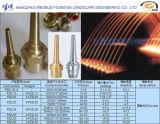 A fonte provê de bocal o bocal jorrando reto universal da fonte (aço inoxidável ou o bronze)