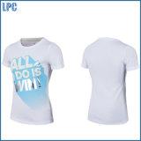 Impressão relativa à promoção da camisa do logotipo feito sob encomenda T do tipo do OEM