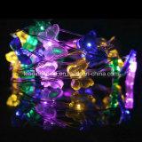 10 de 33-voeten LEDs van de Vlinder van de meter de Sterrige 100 Lichten van het Koord met het Pak van de Batterij 2AA