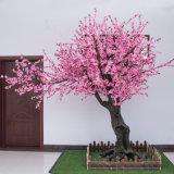 정원 인공적인 복숭아 나무