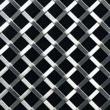 De muur Opgezette Balustrade van het Netwerk van het Traliewerk van de Draad van het Roestvrij staal
