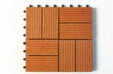 Decking 300x300mm 400x400mm WPC деревянный пластичный составной