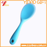 Изготовленный на заказ ложка силикона Ketchenware легкая чистая цветастая (YB-HR-23)