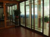 고품질 두 배 유리제 열 틈 알루미늄 미닫이 문