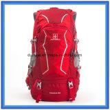 Le sac à dos de hausse imperméable à l'eau personnalisé le plus neuf, sac à dos de polyester, sac campant s'élevant de sac à dos de course de sports en plein air