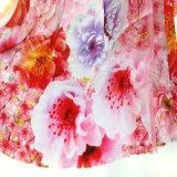 Zoll druckte 100% Silk der Satin-Frauen-Schal
