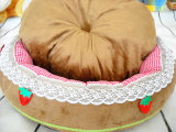 Base pequena do cão do estilo da morango & base do animal de estimação