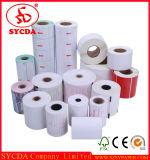 Premier papier pour étiquettes auto-adhésif thermique blanc avec du matériau élevé de Geade