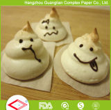El pergamino antiadherente de papel que cuece al horno impreso insignia de encargo cubre el envasado de alimentos