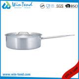 低い懸命のボディ鋳造物によって紙やすりで磨かれる熱伝導サンドイッチコンバインの底誘導ソース鍋
