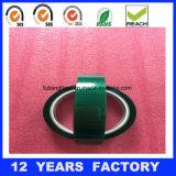 Cinta reflexiva del animal doméstico del cable del verde de cal