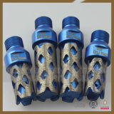 "1/2 ""Thread Diamond Water Use Stone CNC Finger Bits"