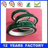 絶縁体の温度の抵抗力がある緑のシリコーンペット保護テープ