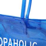 De waterdichte Zak van de Totalisator van pvc Transparante Blauwe (A090)