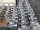 Valvola di globo sigillata muggito di standard Pn16 Wj41h di BACCANO per la pianta di Puerification del gas di combustione